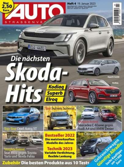 AUTO Straßenverkehr Zeitungscover