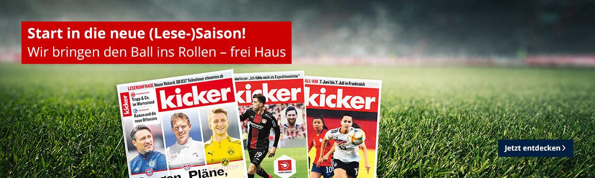 Für den Bundesligastart - bereit wie nie mit dem kicker!