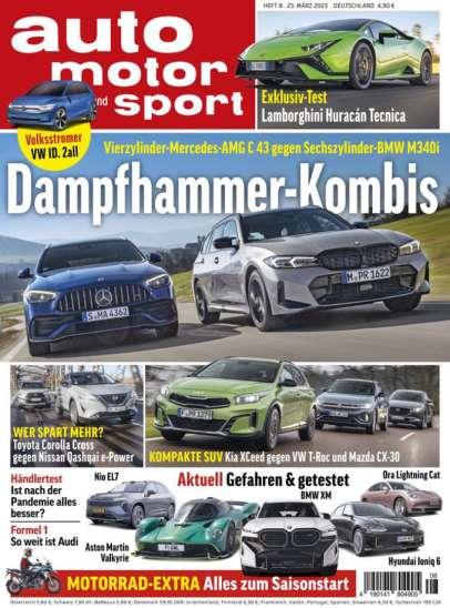 Cover auto motor und sport