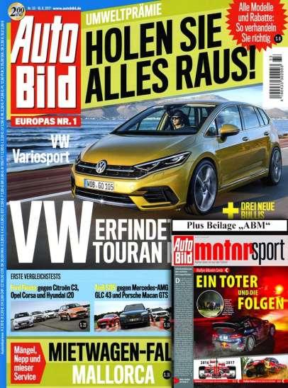 Cover der Autobild Zeitung