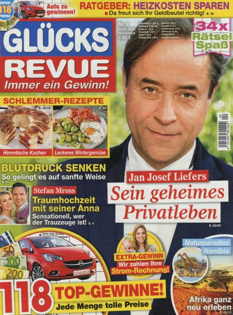 GLÜCKS REVUE