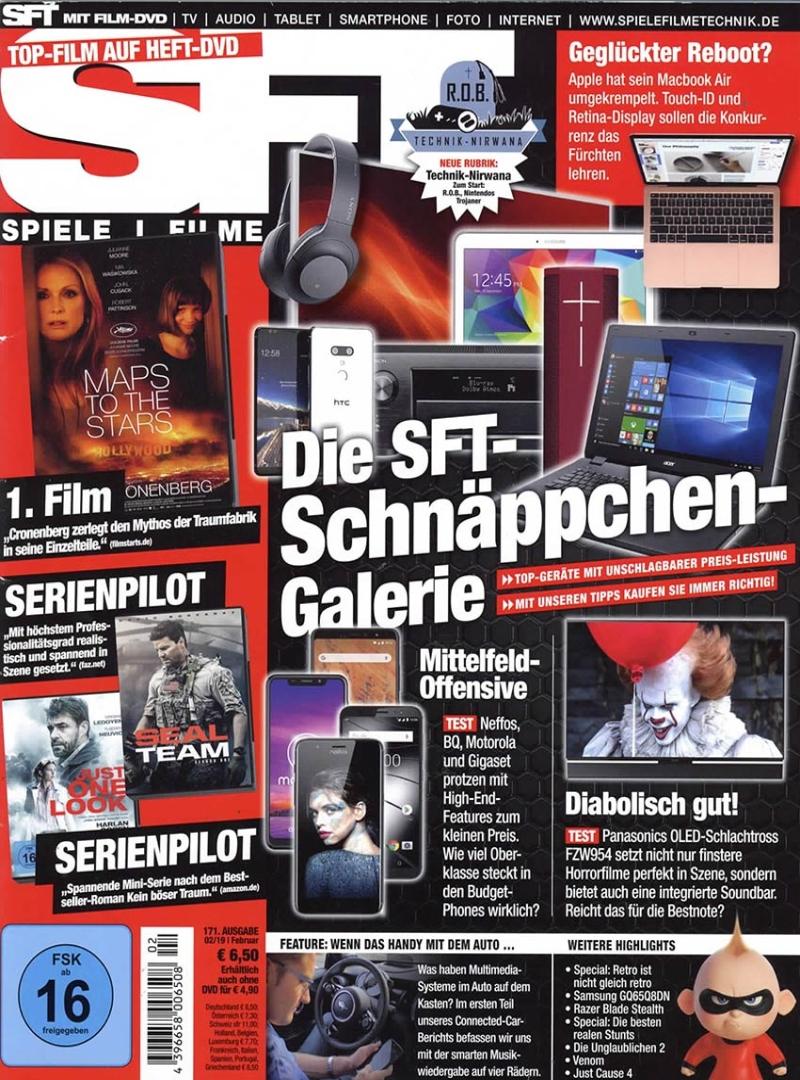 SFT - Spiele Filme Technik-Prämienabo Titelbild