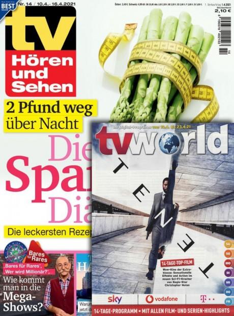 tv Hören und Sehen/tv world