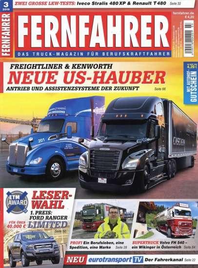 Fernfahrer Magazin-Cover
